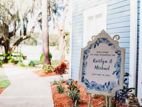 Orlando Real Wedding   Kaitlyn & Michael at Highland Manor!