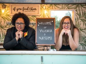 Orlando Drive Thru Wedding | Victoria & Nayomi at Paradise Cove!