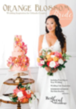 Orange Blossom Bride Magazine Cover Model
