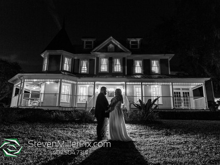 Orlando Real Wedding   Malea & Brandon at Highland Manor!