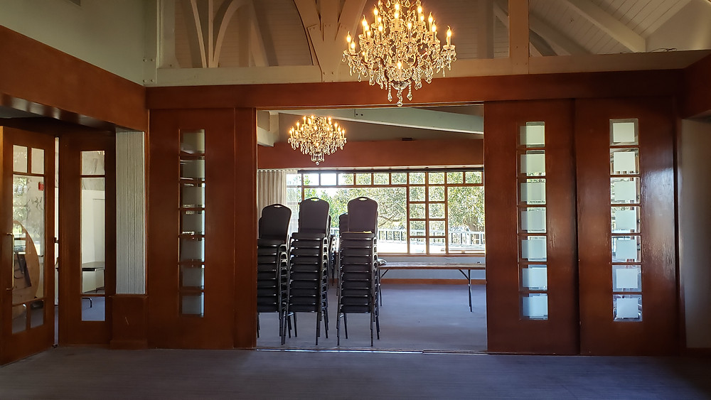 Sunset Room ceremony and reception space