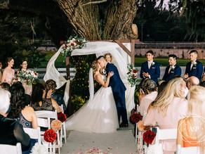 Orlando Real Wedding | Alexandra & Caleb at Highland Manor!