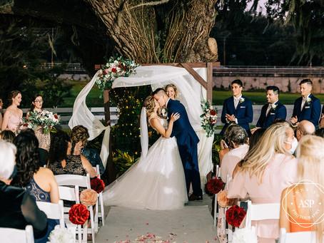 Orlando Real Wedding   Alexandra & Caleb at Highland Manor!