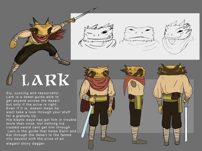Lark Character Sheet