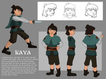 Kaya Character Sheet.