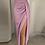 Thumbnail: High Slit Peplum Dress