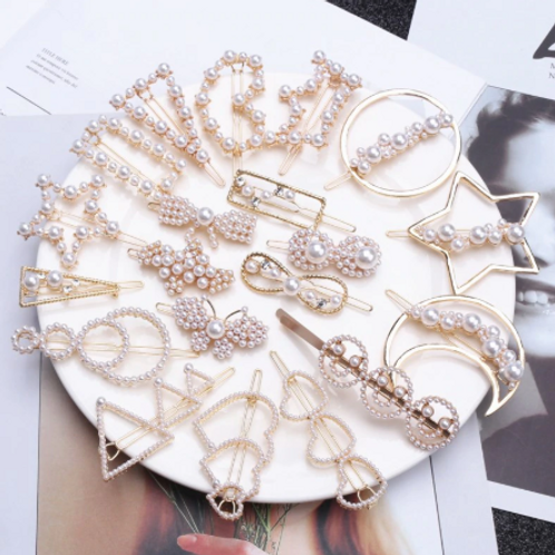 Studded Hairpins
