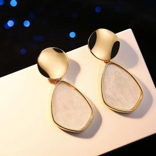 Vintage Geometric Dangle Earrings