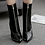 Thumbnail: Faux Leather Ankle High Boot Heels
