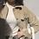 Thumbnail: Khaki Corduroy Shirt Jacket