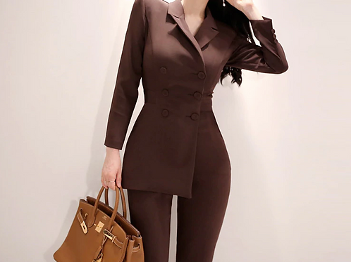 Semi-Formal Asymmetrical Suit