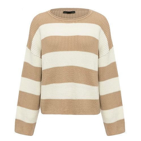 Stripes Warm Pullover