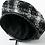 Thumbnail: Warm Plaid Beret Hats