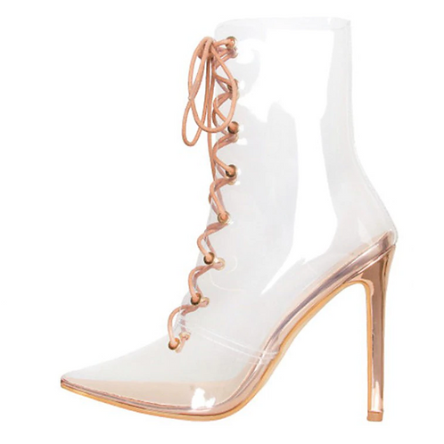 Clear Boot Heels