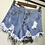 Thumbnail: Distressed Denim Shorts