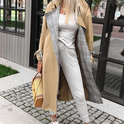 Long Hem Trench Coat