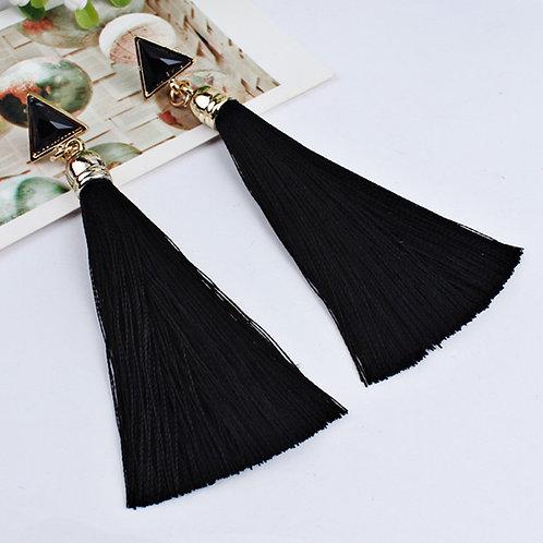 Bohemian Rope Tassel Earrings