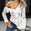 Thumbnail: Cotton Lace Ruffled Blouse