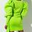 Thumbnail: Lime Green Mini Dress