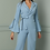 Thumbnail: Blue Asymmetrical Co-Ord Suit