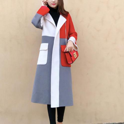 Multi Color Trench Coat