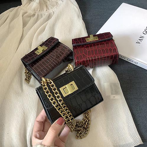 Stone Textured Mini Bag