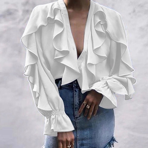 Flared Elegant Shirt