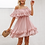 Thumbnail: Blush Chiffon Ruffle Dress