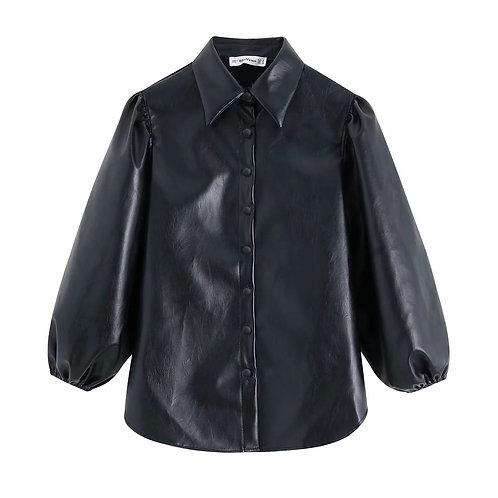 Soft Leather Shirt