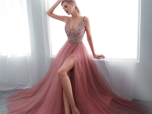 Blush Party Gown