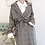 Thumbnail: Chequered Long Trench Coat