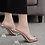 Thumbnail: Diamond Shape Transparent Heels
