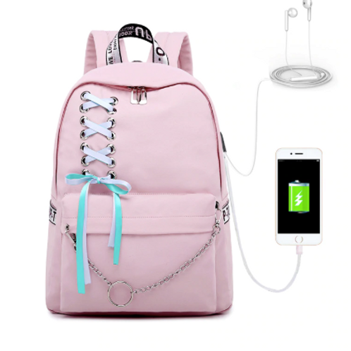 Backpack with USB Socket