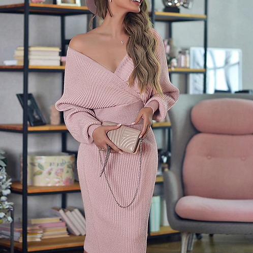 Knitted Skirt & Top Set