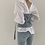 Thumbnail: White Shirt & Denim Belt