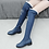 Thumbnail: Denim Knee-High Boots