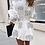 Thumbnail: White Printed Shirt Dress