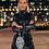 Thumbnail: Metallic & Shimmery Black Dress