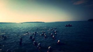 Lobsterman Triathlon and a Lobsterbake