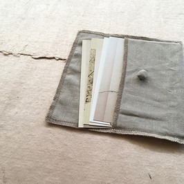 Postcard set 'Softness' / 6x postcards in linen