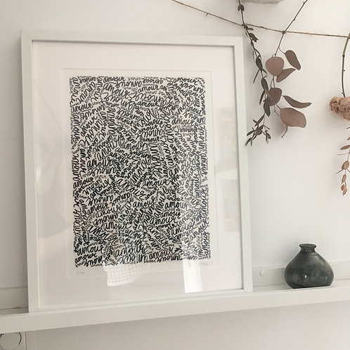 Amour - Art Print