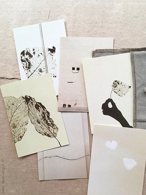 Art Card Set 'SOFTNESS' in linen
