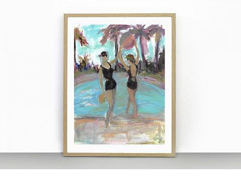 Poolside - Art Print