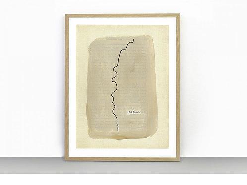 Het Spaarne - Art Print