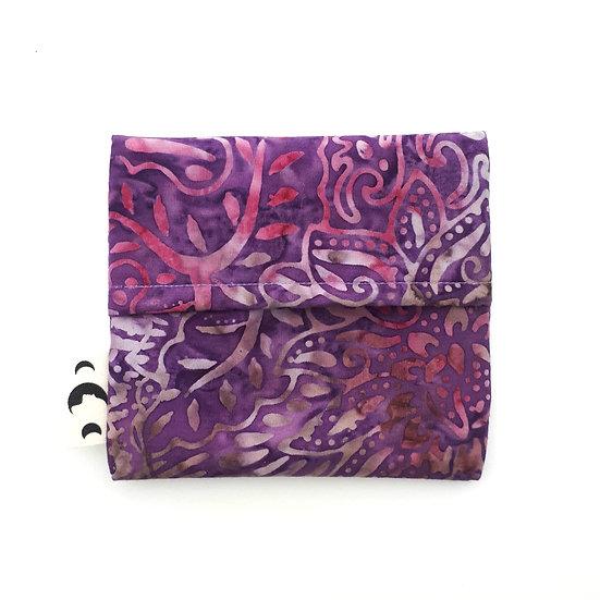 Pad Wrapper - Purple Batik
