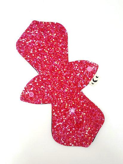 """12"""" Moderate Pad - Pink Glitter"""