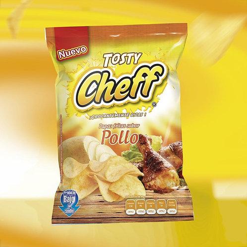 Docena Papas Tosty Cheff POLLO