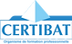 logo certibat_2018 - organisme de format