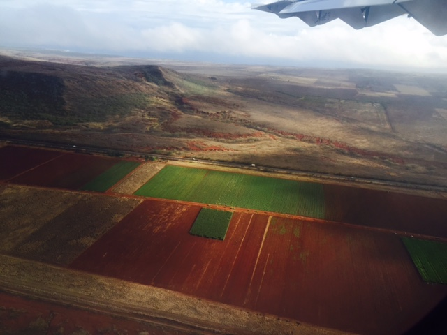Molokai from the air