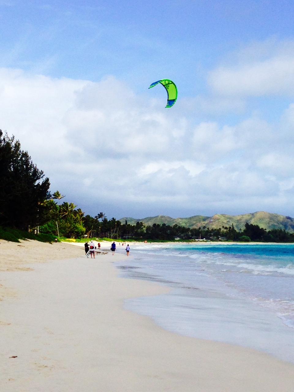 Windsurfing, Kailua Beach